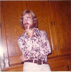 Taken in 1971, this photo of me came from a time when Paul was 14, a high school sophomore.