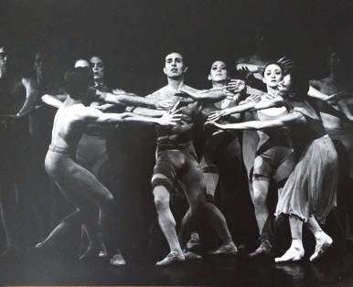 This is my favorite dance photo of Paul. In 'The River' he is not the focus of what is going on here. He was rarely the focus of what was going on, but he stood out anyway as the sweetest, smart, handsome, kind man.
