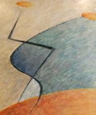 Acrylic on canvas 1